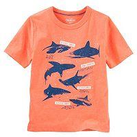Boys 4-12 OshKosh B'gosh® Glow-in-the-Dark Shark Print Graphic Tee