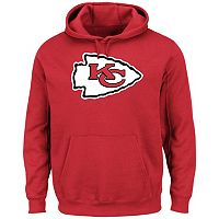 Men's Majestic Kansas City Chiefs Tek Patch Fleece Hoodie