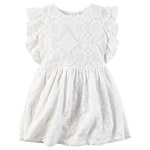 Girls 4-8 Carter's Geo Lace Dress