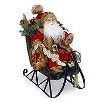 National Tree Company 19-in. Santa Sleigh Christmas Decor
