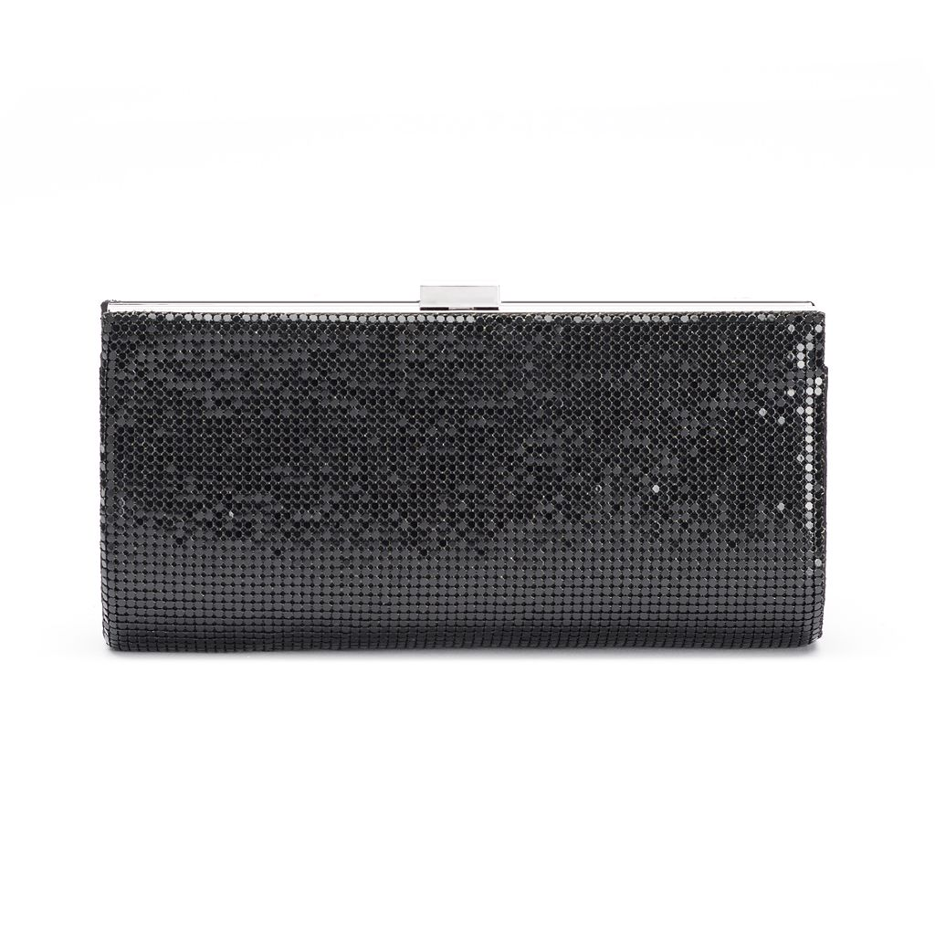 Gunne Sax by Jessica McClintock Bailey Quilted Mesh Frame Clutch