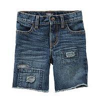 Boys 4-12 OshKosh B'gosh® Distressed Denim Shorts