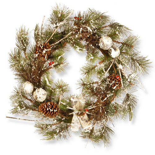 "National Tree Company 24"" Christmas Wreath"