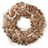 "National Tree Company 22"" Natural Pine Cone Christmas Wreath"