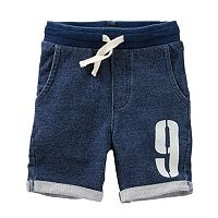 Boys 4-12 OshKosh B'gosh® French Terry Roll Cuff Shorts