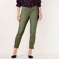 Women's LC Lauren Conrad Colored Skinny Capri Jeans