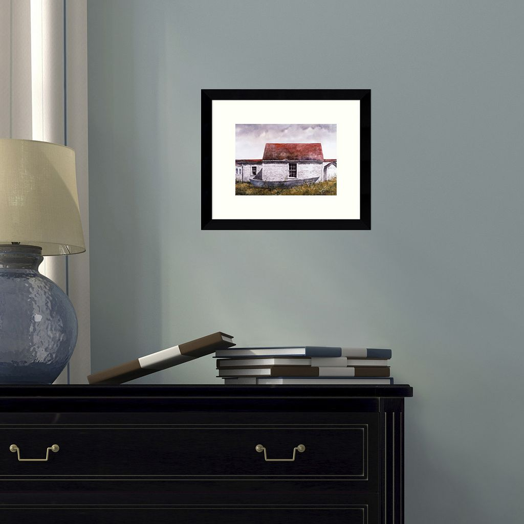 Blue Dory Monhegan Framed Wall Art