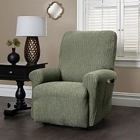Heather Stripe Stretch Recliner Slipcover