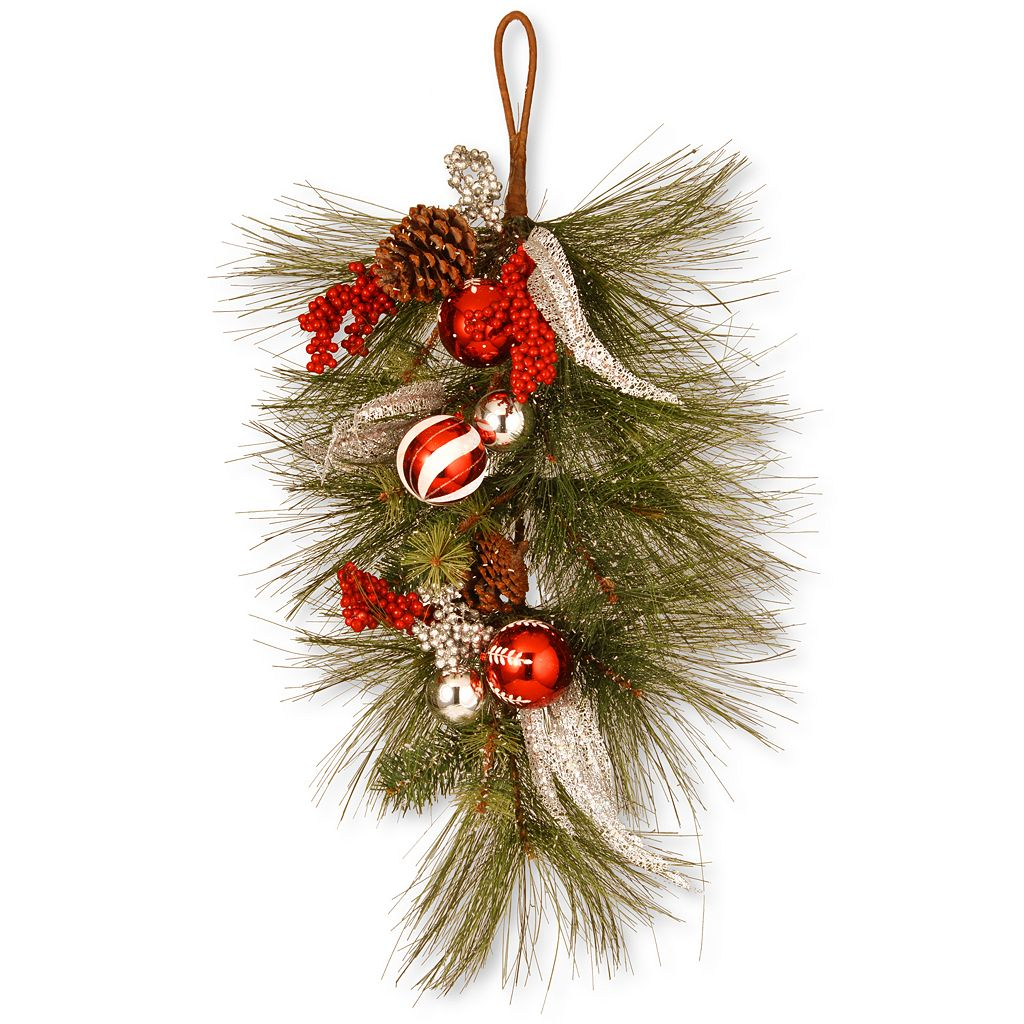 National Tree Company 30-in. Artificial Pine & Berry Wall Decor