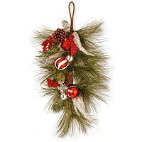 National Tree Company 30 in Artificial Pine & Berry Wall Decor