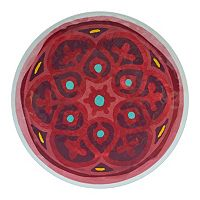 Food Network™ Medallion Melamine Round Platter