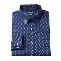 Men's Croft & Barrow® Easy-Care True Comfort Regular-Fit Dress Shirt
