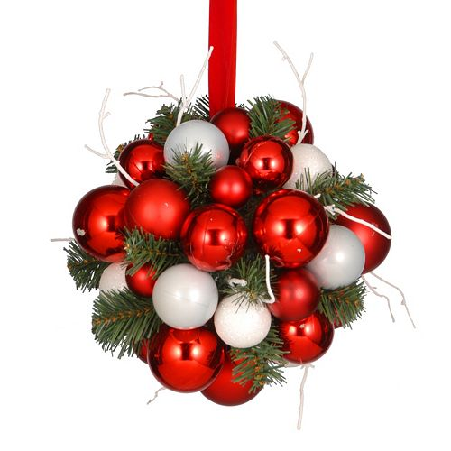 National Tree Company Kissing Ball Christmas Ornament