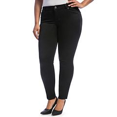 Juniors' Plus Size Crave Skinny Jeans