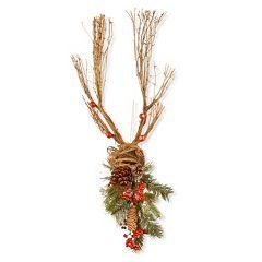 National Tree Company 35' Christmas Deer Wall Decor