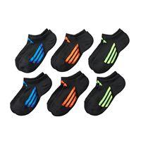 Boys adidas 6-Pack ClimaLite No-Show Socks