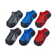 Boys adidas 6-Pack ClimaLite No-Show Socks