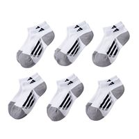 Boys adidas 6-Pack ClimaLite Low-Cut Socks