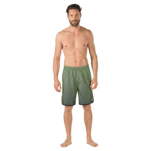Men's Speedo Grid Aqua Volley Jammer Swim Shorts