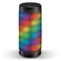 iLive Bluetooth Wireless Speaker with Color-Changing LED Lights