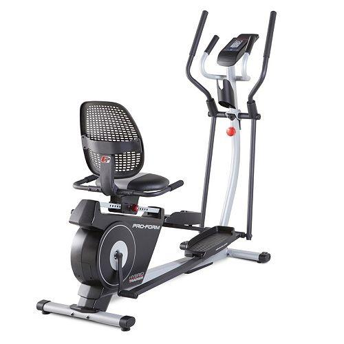 ProForm Hybrid Trainer Elliptical & Recumbent Bike