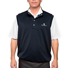 Men's Pebble Beach Classic-Fit Performance Pullover Golf Vest