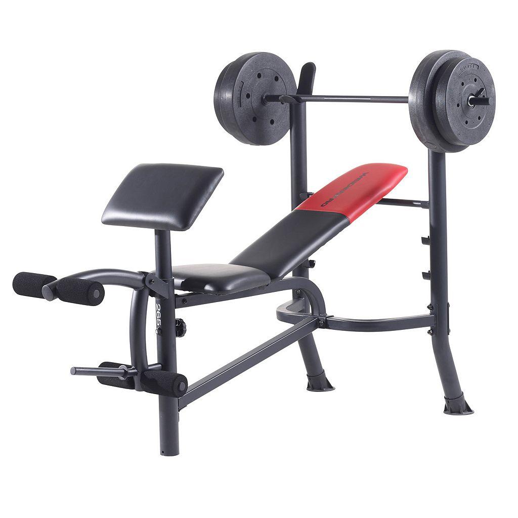 Weider Pro 265 Standard Weight Bench
