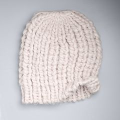 Women's Simply Vera Vera Wang Chunky Cable-Knit Beanie