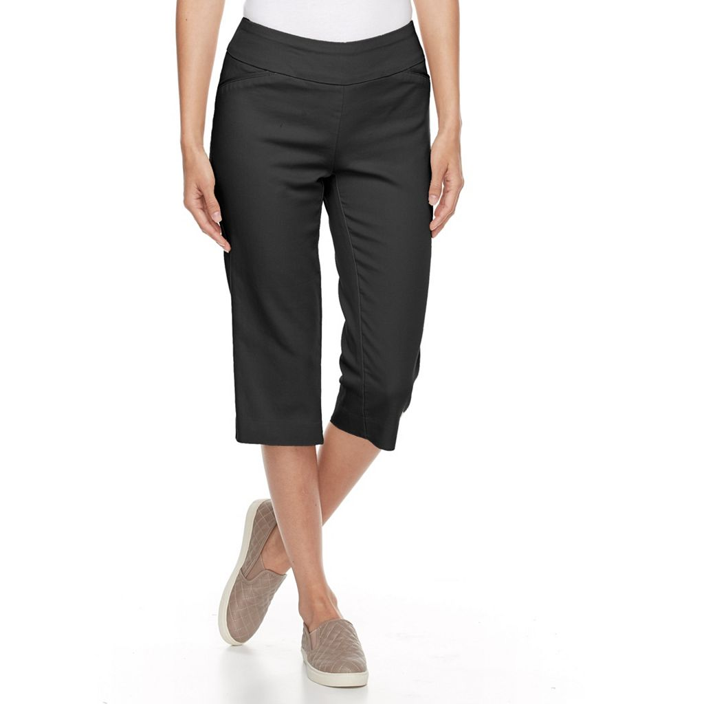 Women's Croft & Barrow® Polished Capris