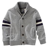 Boys 4-12 OshKosh B'gosh® French Terry Shawl-Collar Cardigan
