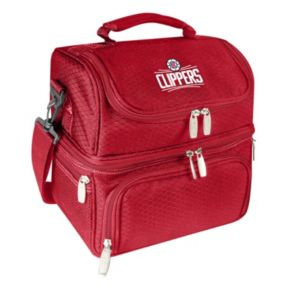 Picnic Time Los Angeles Clippers Pranzo 7-Piece Insulated Cooler Lunch Tote Set