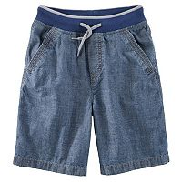 Boys 4-12 OshKosh B'gosh® Pull-On Denim Shorts