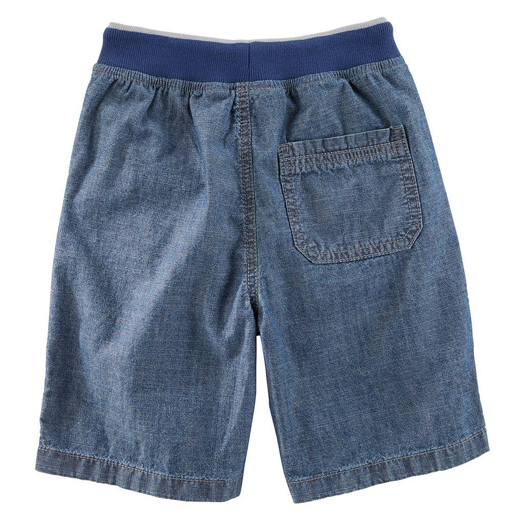 Boys 4-12 OshKosh B'gosh® Pull-On Denim Shorts