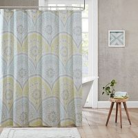 Urban Habitat Nicolette Printed Shower Curtain