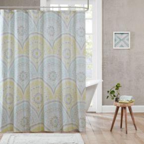 Urban Habitat Nicolette Printed Shower Curtain