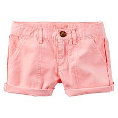 Girls 4-8 Carter's Twill Shorts