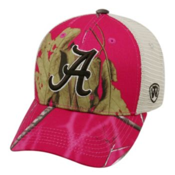 Adult Top of the World Alabama Crimson Tide Doe Camo Adjustable Cap