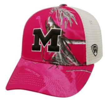 Adult Top of the World Michigan Wolverines Doe Camo Adjustable Cap