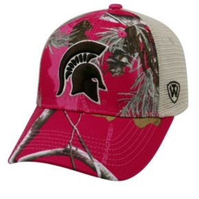 Adult Top of the World Michigan State Spartans Doe Camo Adjustable Cap