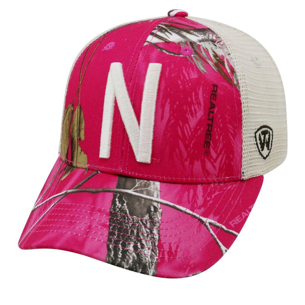 Adult Top of the World Nebraska Cornhuskers Doe Camo Adjustable Cap