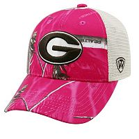 Adult Top of the World Georgia Bulldogs Doe Camo Adjustable Cap