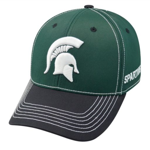 Adult Top of the World Michigan State Spartans Tactile One-Fit Cap