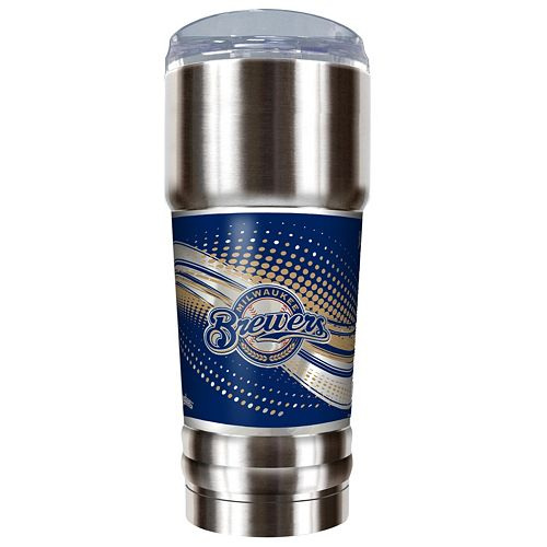 Milwaukee Brewers 32-Ounce Pro Stainless Steel Tumbler