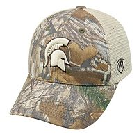 Adult Top of the World Michigan State Spartans Prey Camo Adjustable Cap