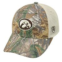 Adult Top of the World Iowa Hawkeyes Prey Camo Adjustable Cap