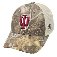 Adult Top of the World Indiana Hoosiers Prey Camo Adjustable Cap