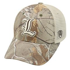 Adult Top of the World Louisville Cardinals Prey Camo Adjustable Cap