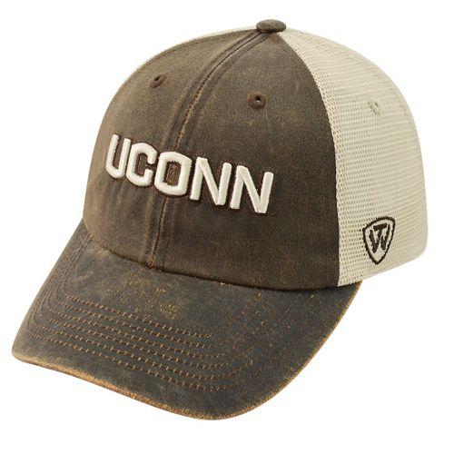 Adult Top of the World UConn Huskies Scat Adjustable Cap