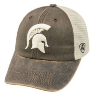 Adult Top of the World Michigan State Spartans Scat Adjustable Cap