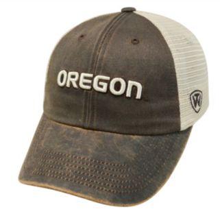Adult Top of the World Oregon Ducks Scat Adjustable Cap